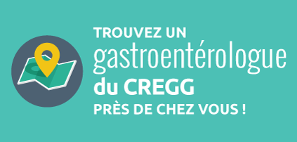 Trouver un gastroentérologue du CREGG près de chez vous