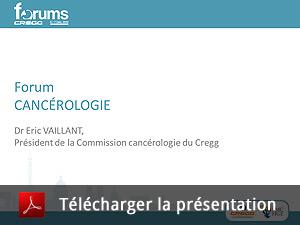 4ème Forum en Cancérologie Digestive Libérale – 7 décembre 2013