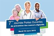 Lettre mensuelle n°46 – Février 2015   Journée Nationale de Prévention des Cancers Digestifs : Mardi 24 mars 2015