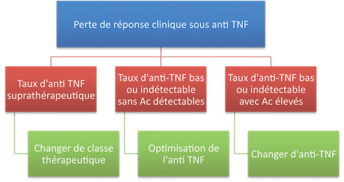 Dosage pharmacologique des anti-TNF : quand, comment ?