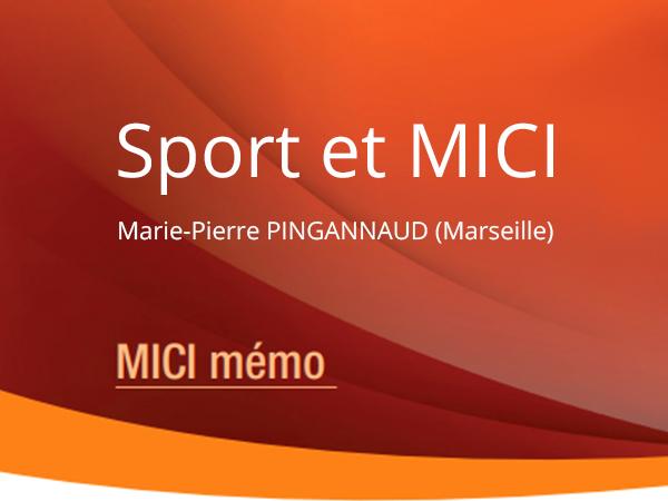 Sport et MICI