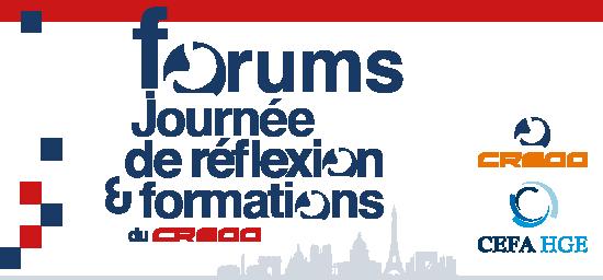 Forums CREGG 2019