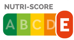 NutriScore pour une barre Twix®