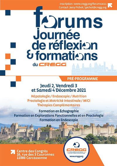 Forums - e-Forums – Journée de Réflexion & Formations – 2021